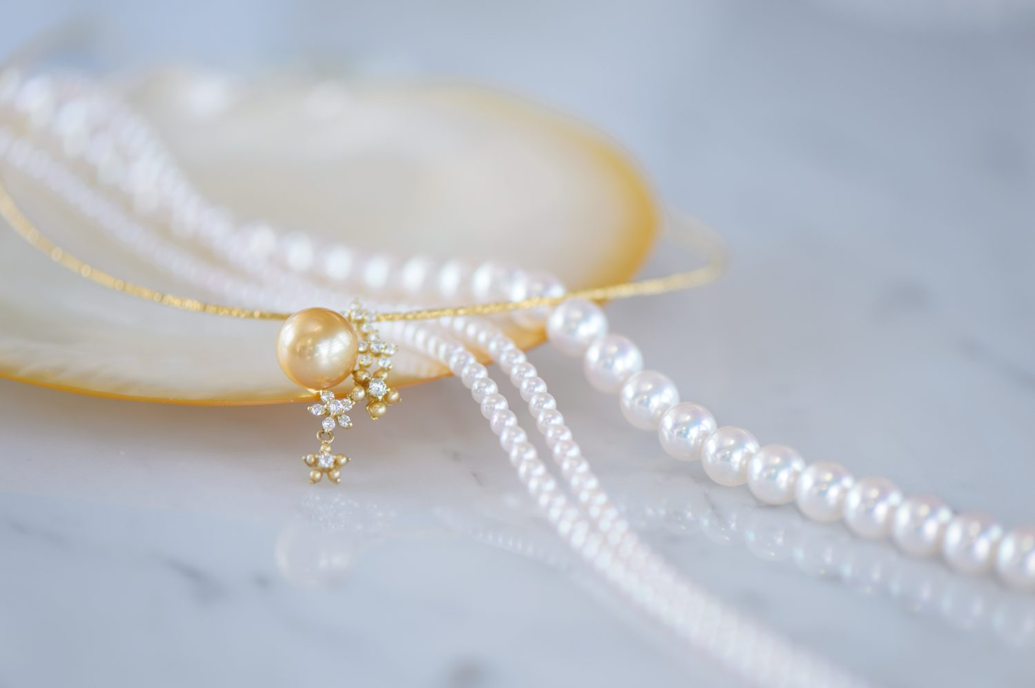 Pearl Necklace as a part of Japanese culture