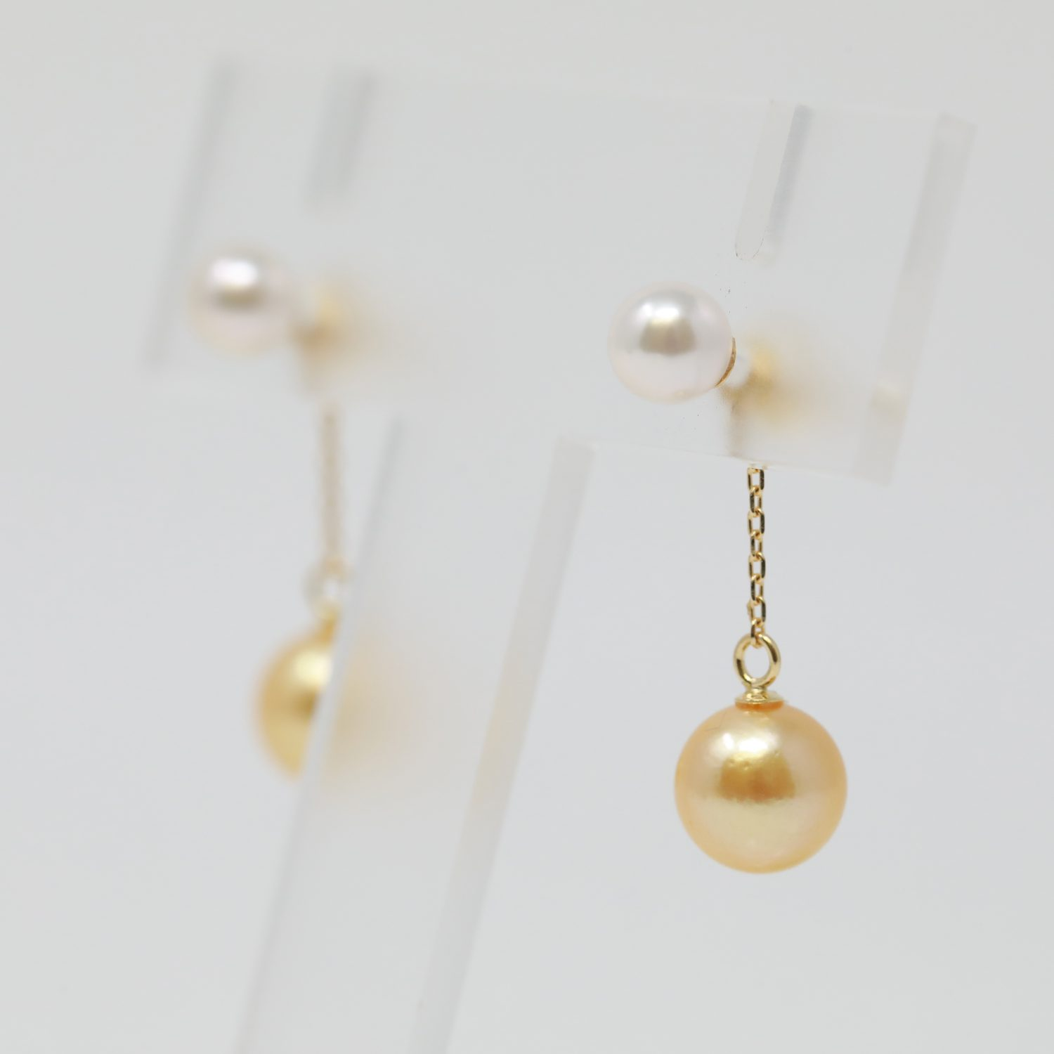 Amazing FALCO Pearl Earring! Many arrangement by one earring