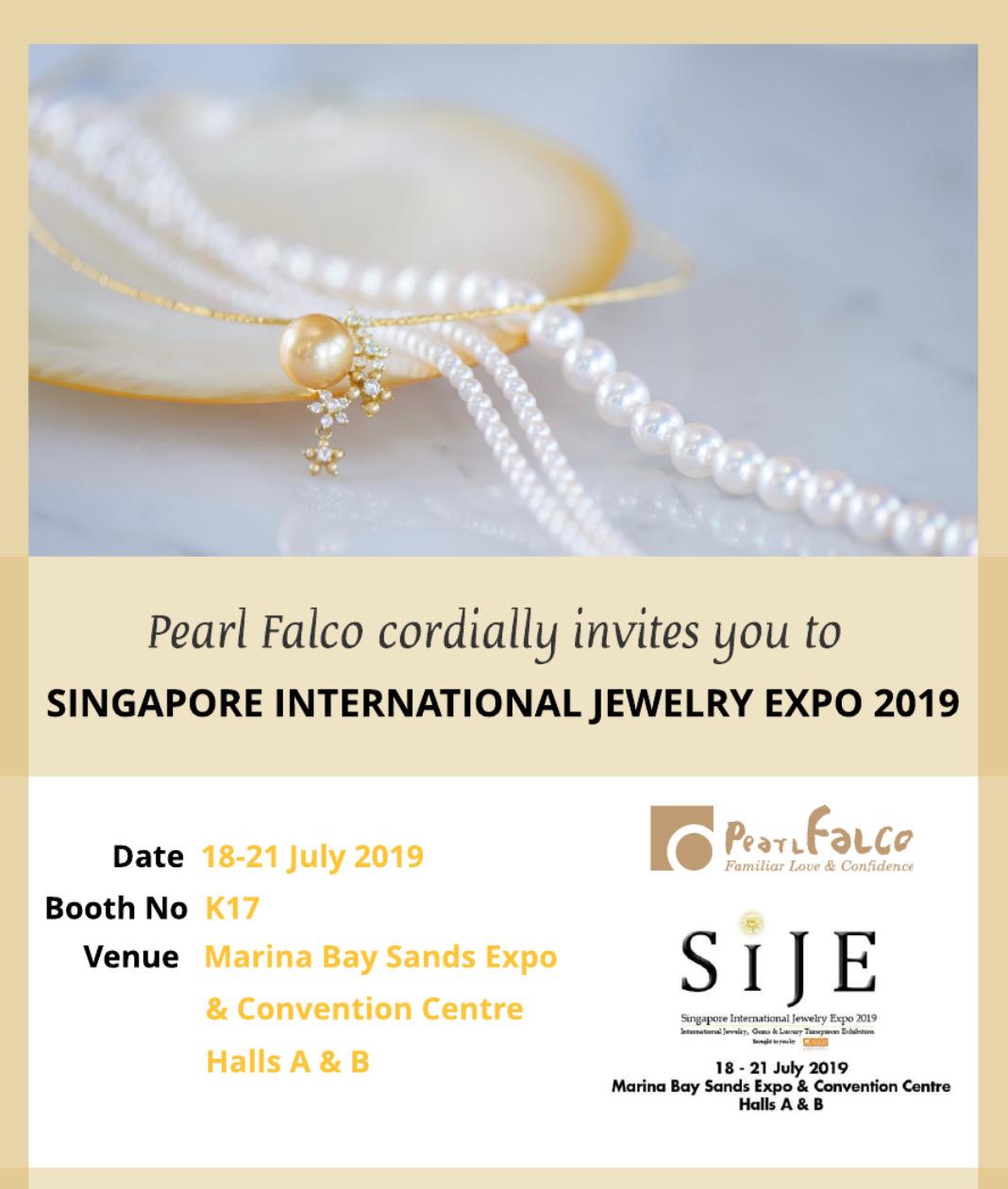 Singapore International Jewellery Expo 2019 – シンガポールマリナベイサンズ宝飾展示会