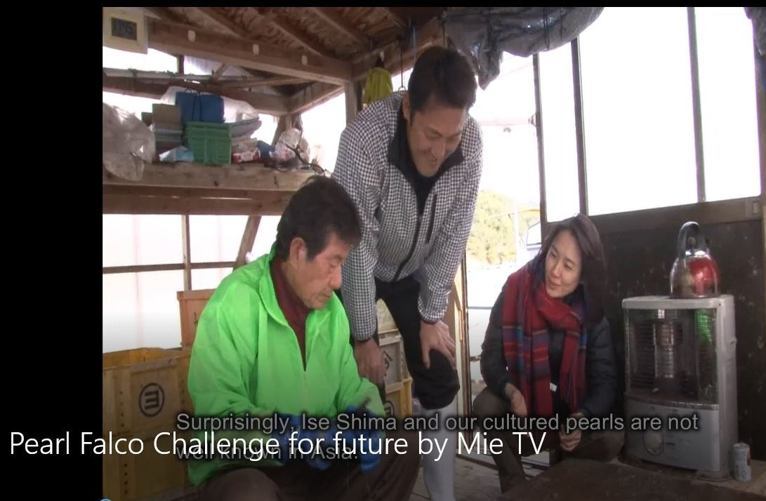 Pearl Falco Challenge for future by Mie Television