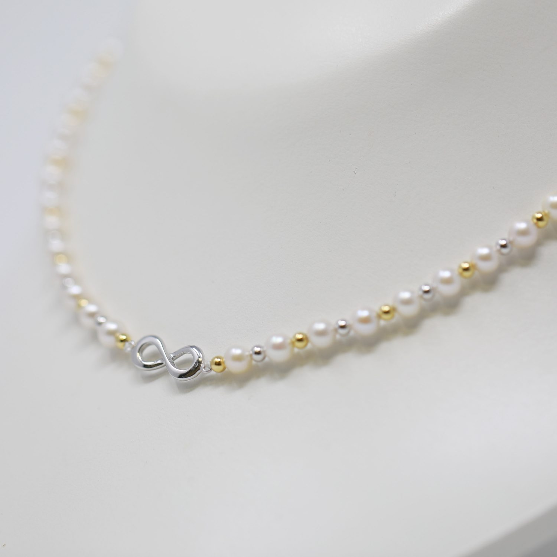 結・あこや真珠ネックレス