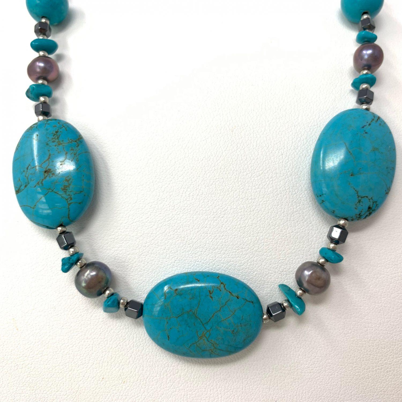 淡水真珠ネックレス N-14