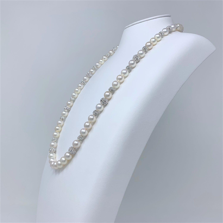 アコヤ真珠ネックレス N-19