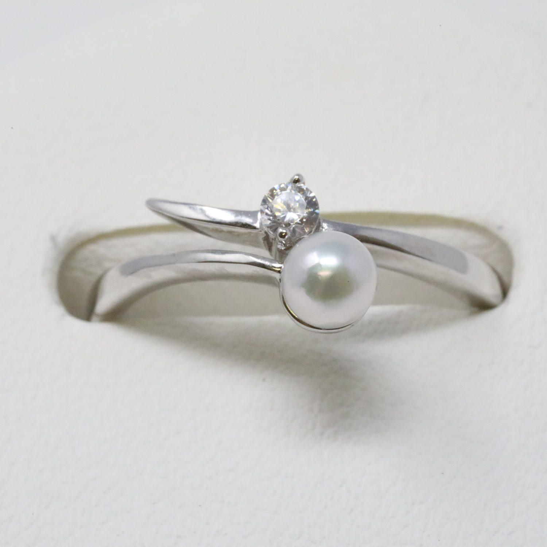あこや真珠 フリーサイズリング