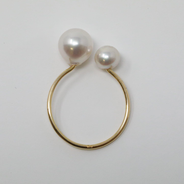 あこや真珠フリーサイズリング